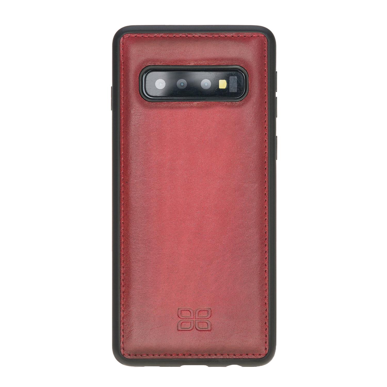 Чехол для сотового телефона Bouletta для Samsung S10 FlexCover, бордовый