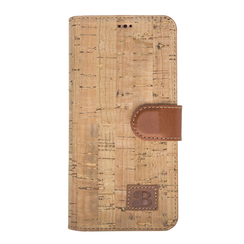 Чехол для сотового телефона Burkley для Samsung S10 WalletCase, коричневый