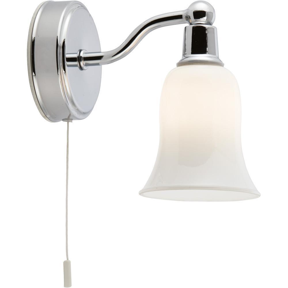 Бра Arte Lamp A2944AP-1CC, белый светильник для влажных помещений arte lamp aqua a2944ap 1cc