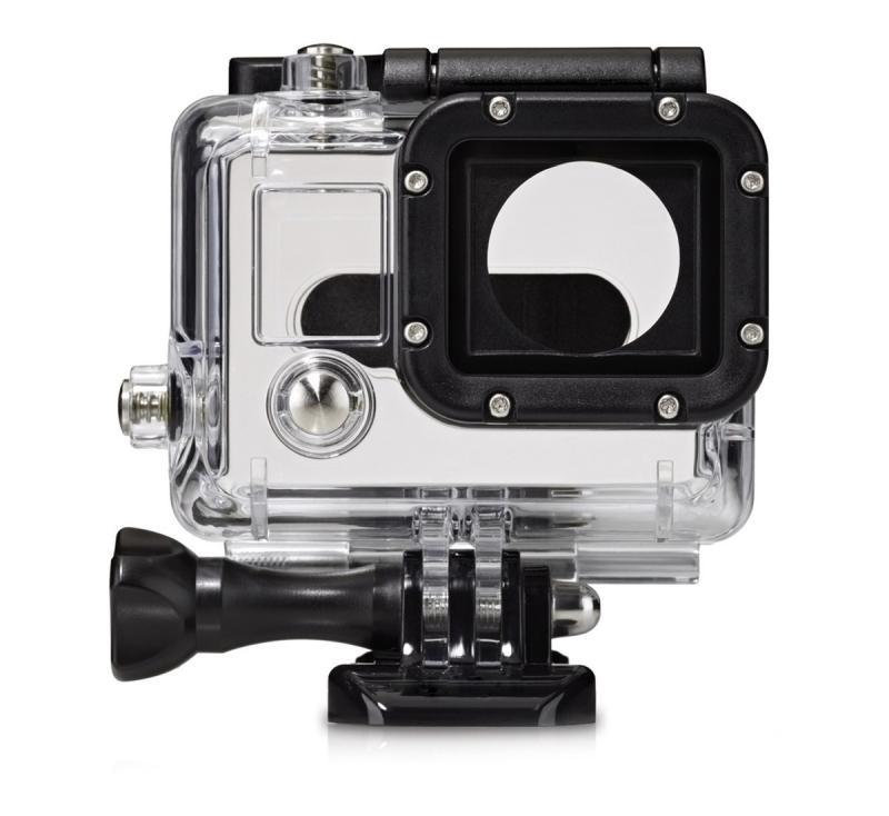 Аквабокс GoodChoice GoPro Hero 3+/4, прозрачный bicycle headset adapter mount w screw for gopro hero 4 2 3 3 silver