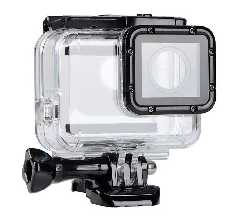 Аквабокс GoodChoice GoPro Hero 7 Silver/White, прозрачный