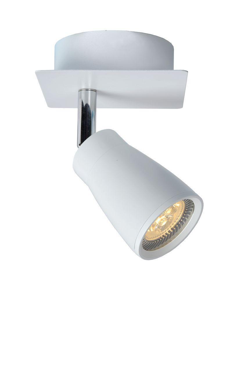 Потолочный светильник Lucide 17949/21/31, белый спот lucide xyrus white 23954 10 31