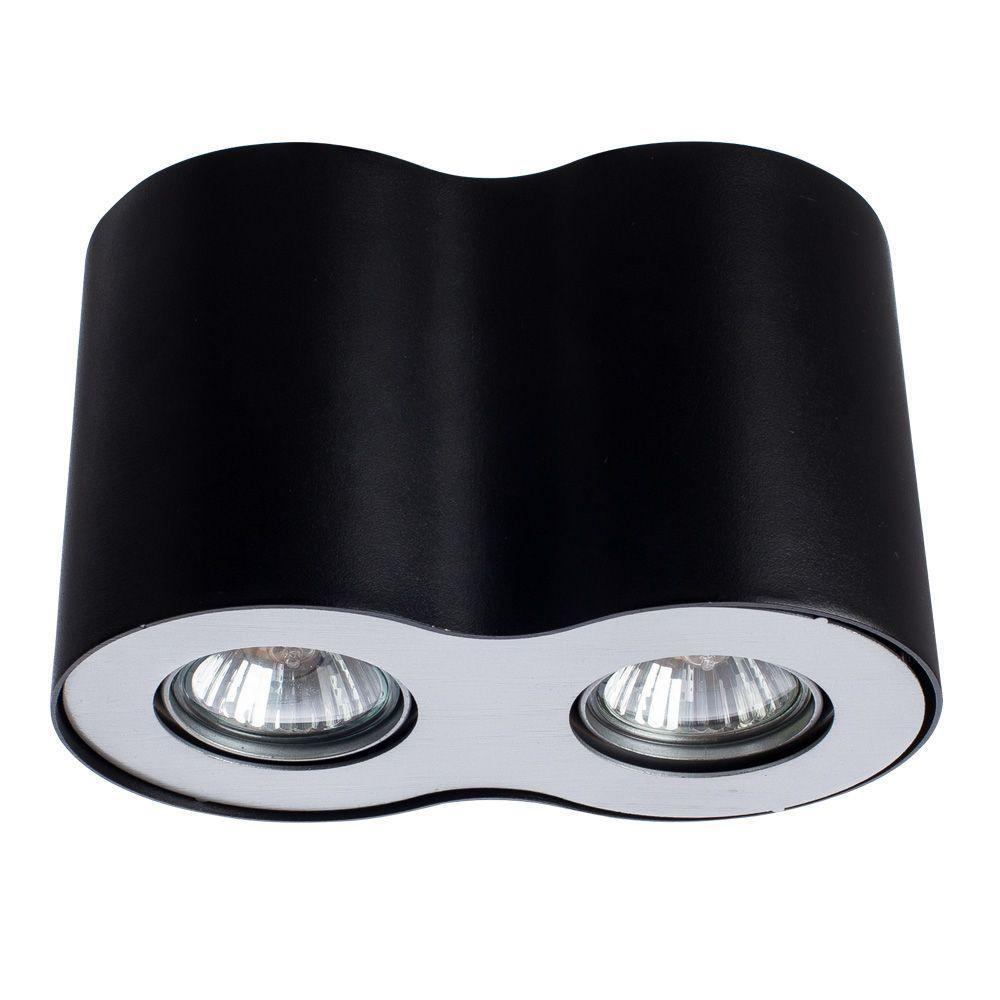Потолочный светильник Arte Lamp A5633PL-2BK, черный цена 2017