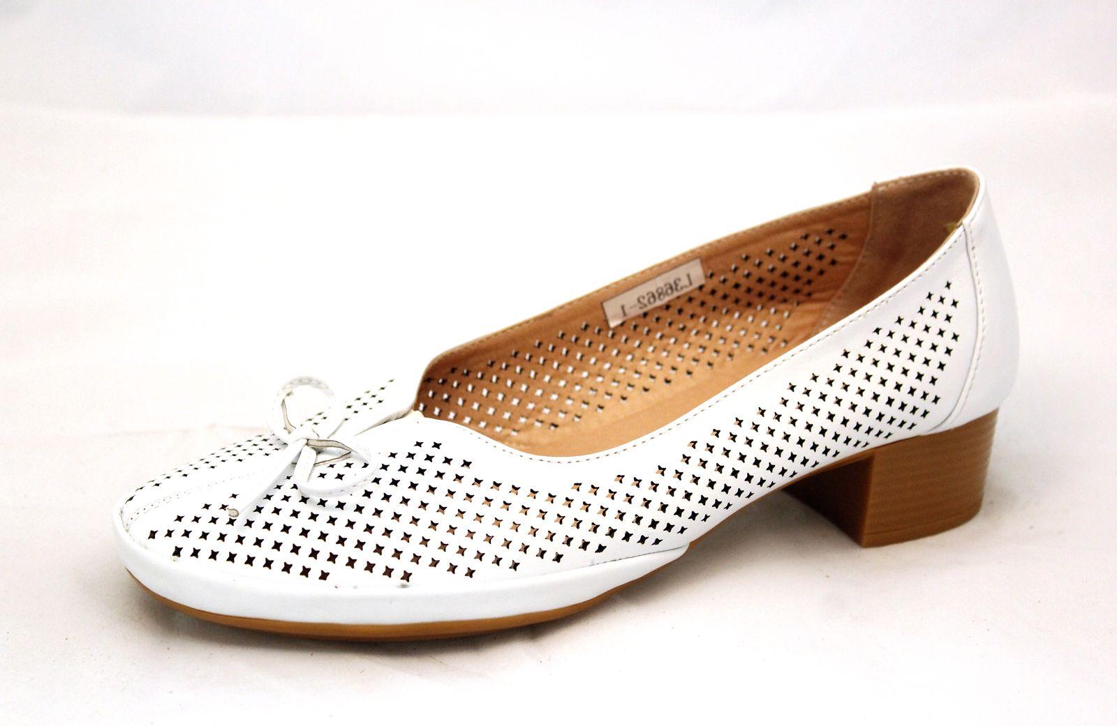 Туфли женские Avenir, цвет: белый. 2624-L81476A. Размер 412624-L81476A