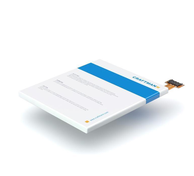 Аккумулятор для телефона Craftmann BL-T3 для LG P895 Optimus VU