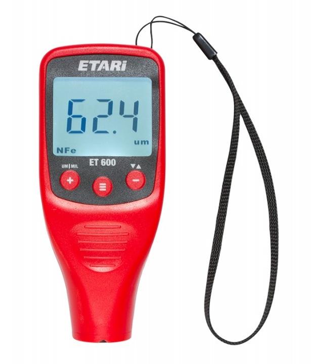 Толщиномер Etari ET-600 толщиномер лакокрасочного покрытия etari ет 600 батарейки в подарок