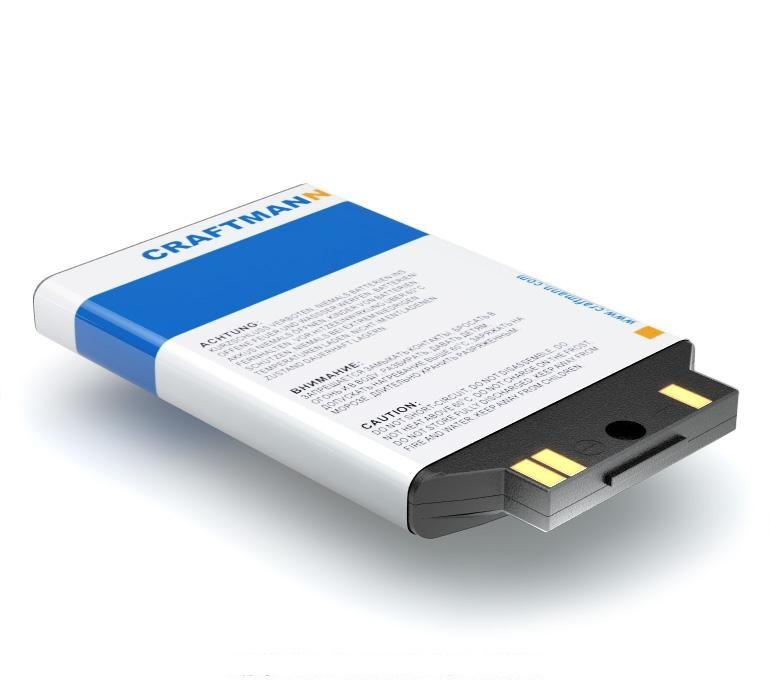 Аккумулятор для телефона Craftmann BSL-59G для LG F2300, F2200, F2250, F2400, F2410, F3000, F9100, F9200, G232, G233, S5000, S5100