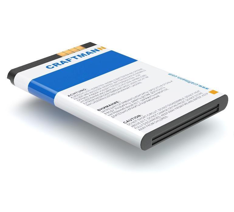 Аккумулятор для телефона Craftmann LGIP-330N для LG GB230, GB220, GB280, GB350 стоимость