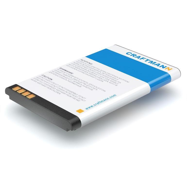 Аккумулятор для телефона Craftmann LGIP-330GP для LG KF300, GB258, GM210, GT365, KF240, KF245, KF305, KF330, KM380, KM385, KM386, KM500, KM501, KS360, KT520, TE365 стоимость