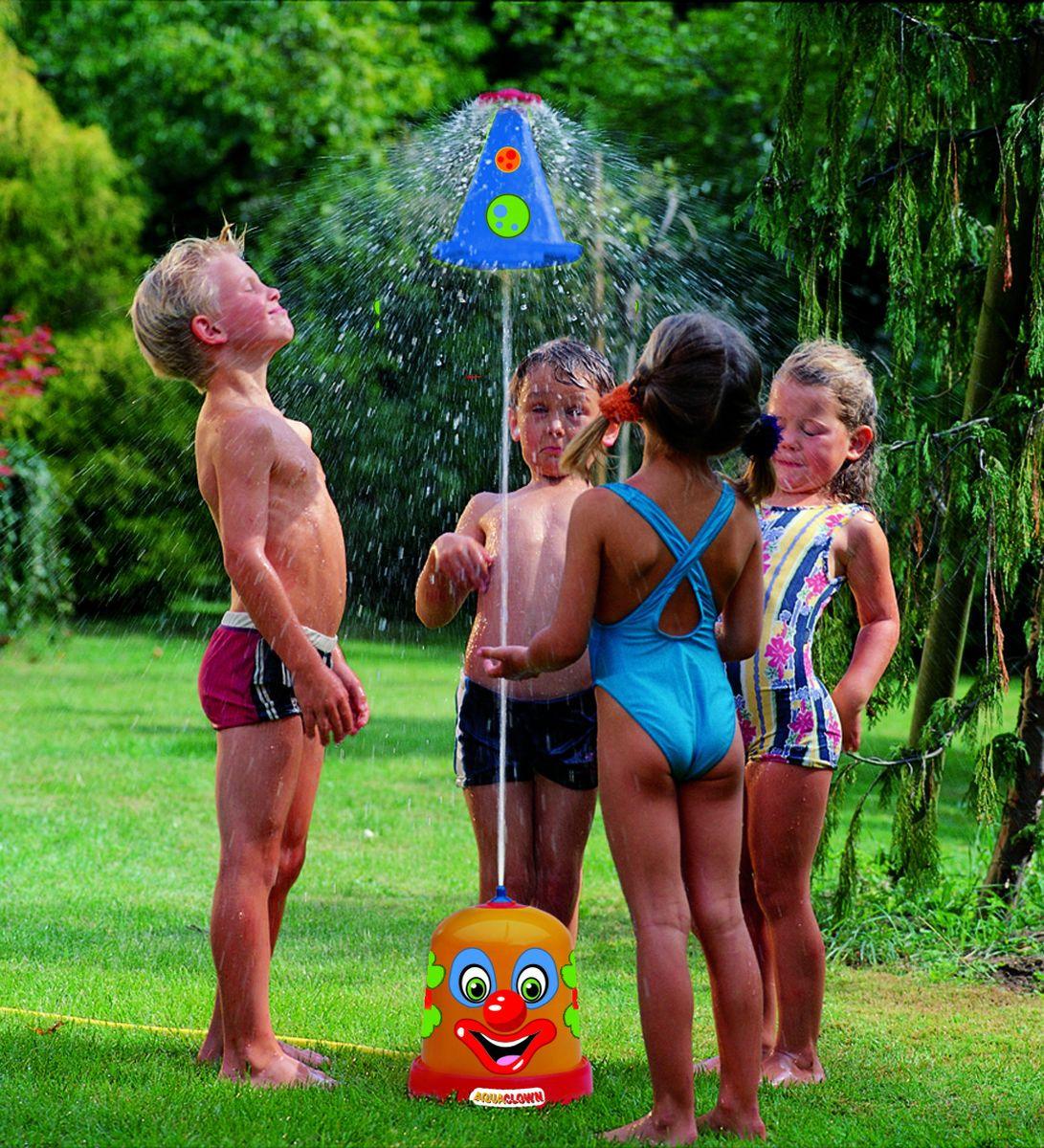 Дополнительный модуль Big Outdoor Детский фонтан Веселый Клоун, 76548, мультиколор, 27 х 27 х 45 см Big