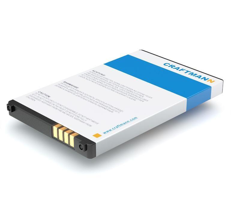 Аккумулятор для телефона Craftmann LGIP-340N для LG KS660, AX265, AX840, GD300S, GR500, GR700, GT350, GT550, GW520, GW525, KF900, KM555, KS500, KS550, KT770, LX265, UN250, UX265, UX840, VN250 аккумулятор для телефона craftmann bl 53yh для lg d855 g3 с увеличенной ёмкостью до 5900 mah и крышкой чёрного цвета