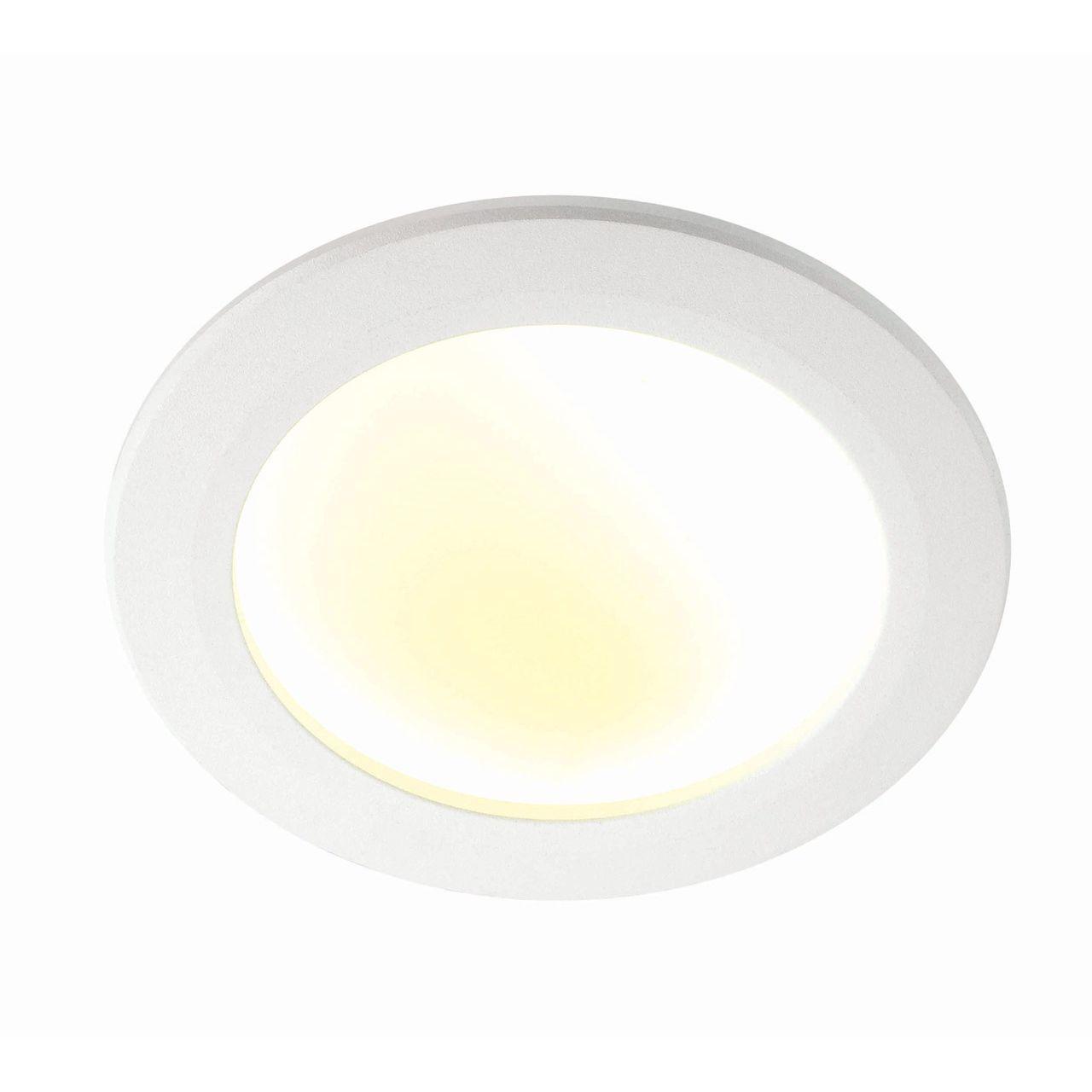 Встраиваемый светильник Novotech 357353, белый встраиваемый светильник novotech gesso 357353