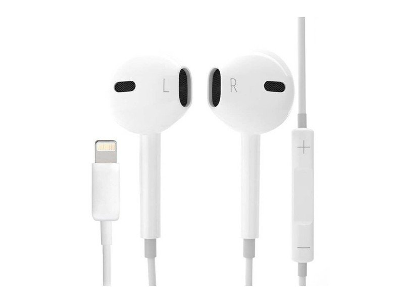 Apple EarPods Lightning, White наушники