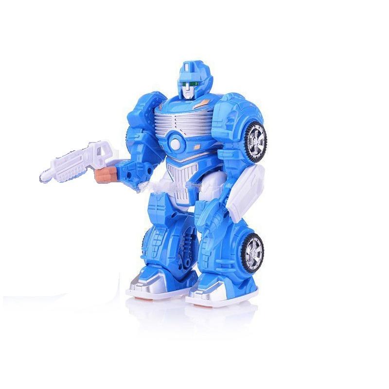 Игрушечный робот S+S TOYS со светом и звуком, 101031780 s s toys игрушечный холодильник