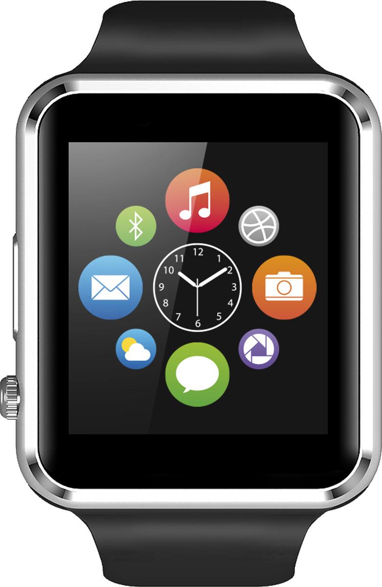 Часы-телефон Jet Phone SP1, черный mp3 плеер oem 2015 mp3 micro sd tf 6 clip 4