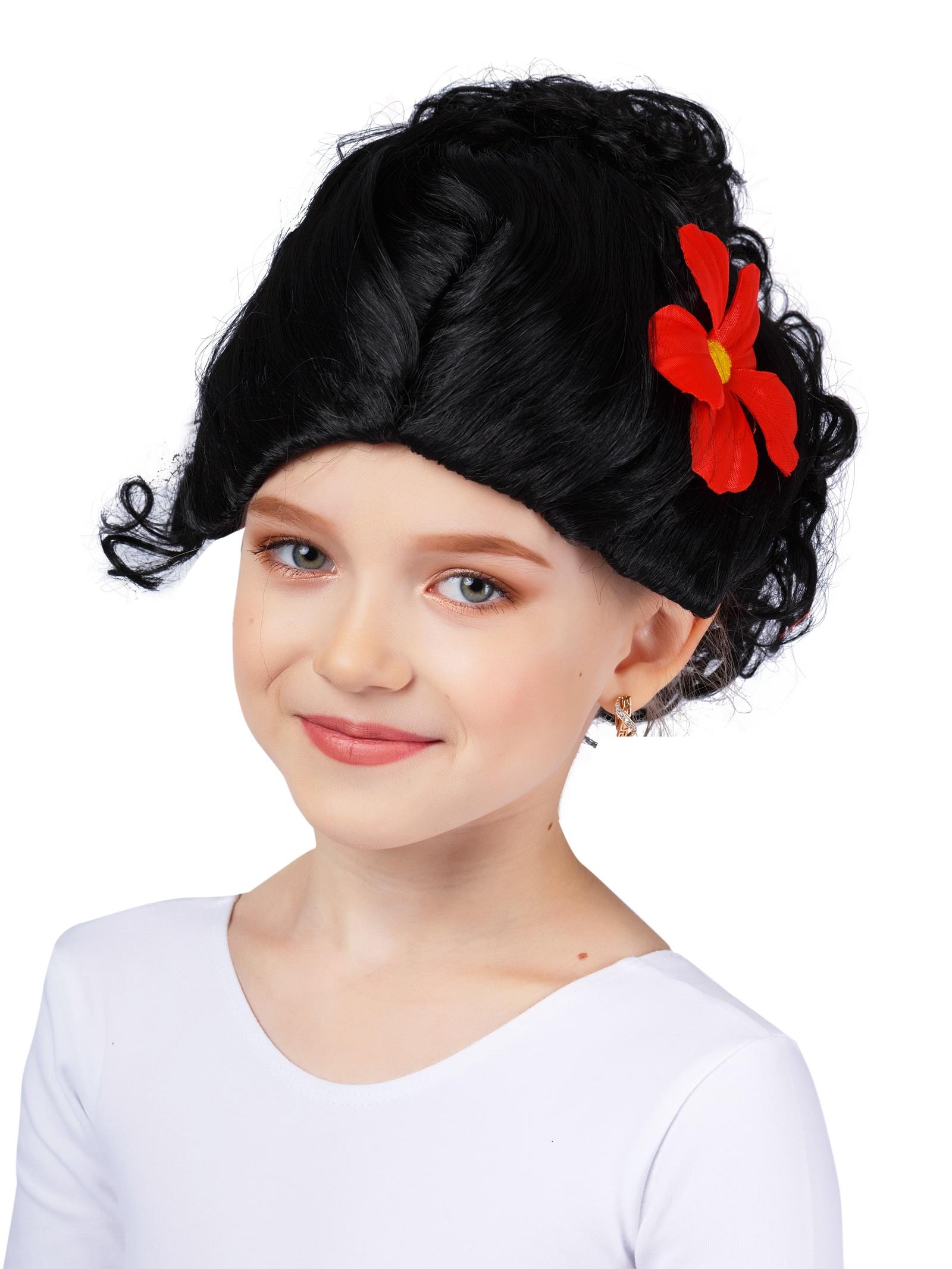 Фото - Аксессуар для карнавального костюма Gala-Вальс Парик Испанка, красный, черный парик косплей cosleader perucas sallei peluca wig 028a