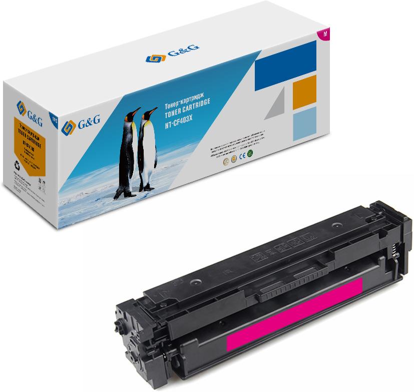цены на Картридж G&G NT-CF413X, пурпурный, для лазерного принтера  в интернет-магазинах
