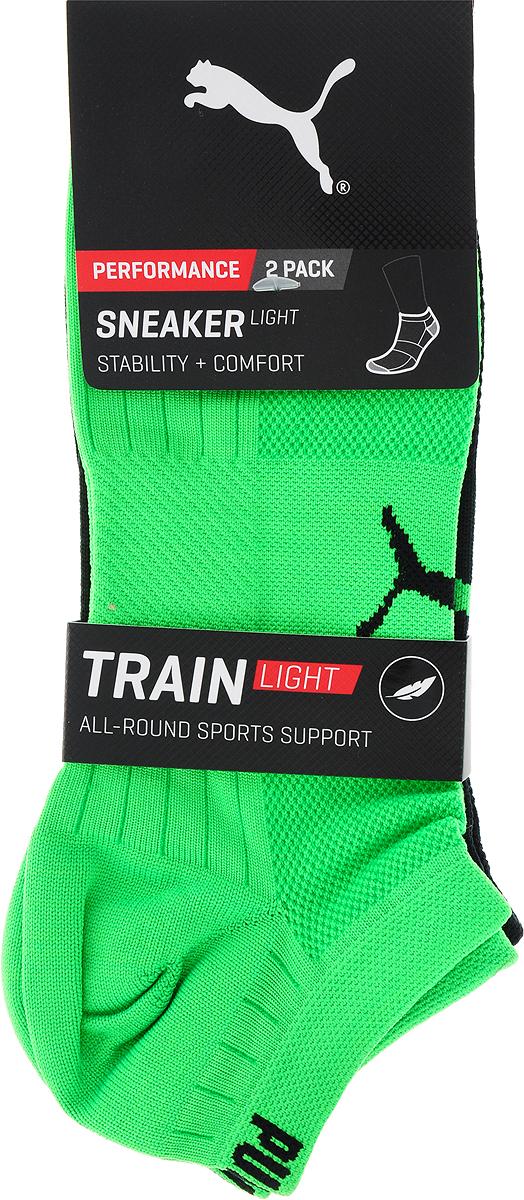 Носки PUMA Performance Train Light Sneaker 2p носки женские puma sneaker plain цвет белый розовый 3 пары 90680704 размер 39 42