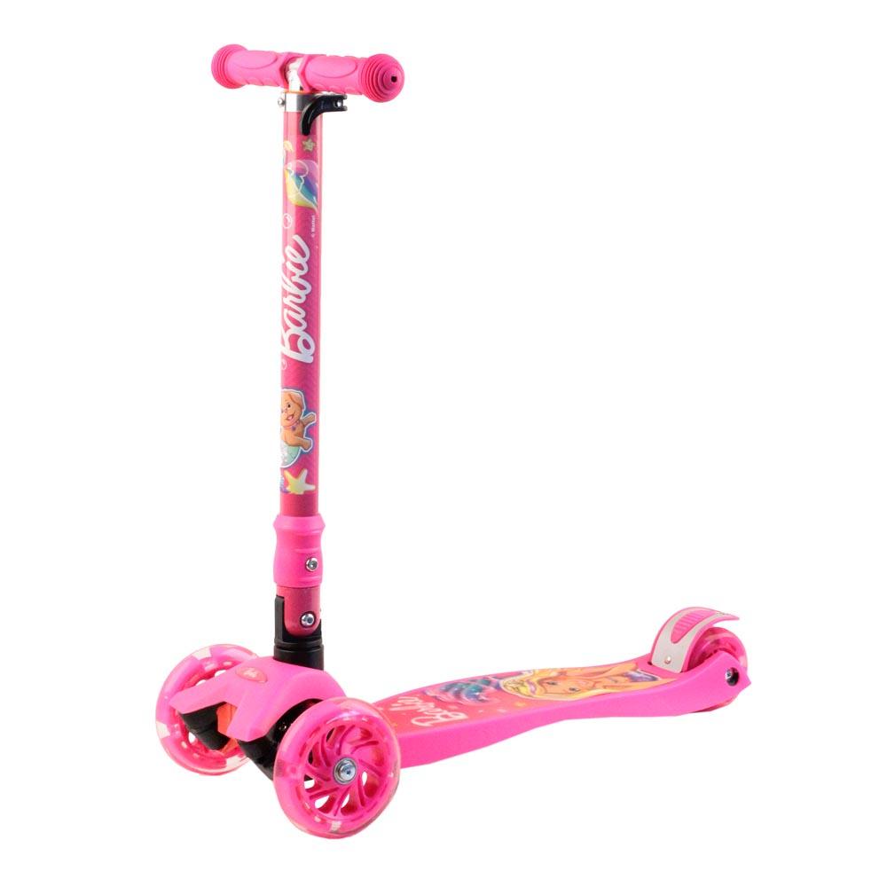 Фото - Самокат Джамбо тойс 912-B5PP1, розовый набор школьниика barbie