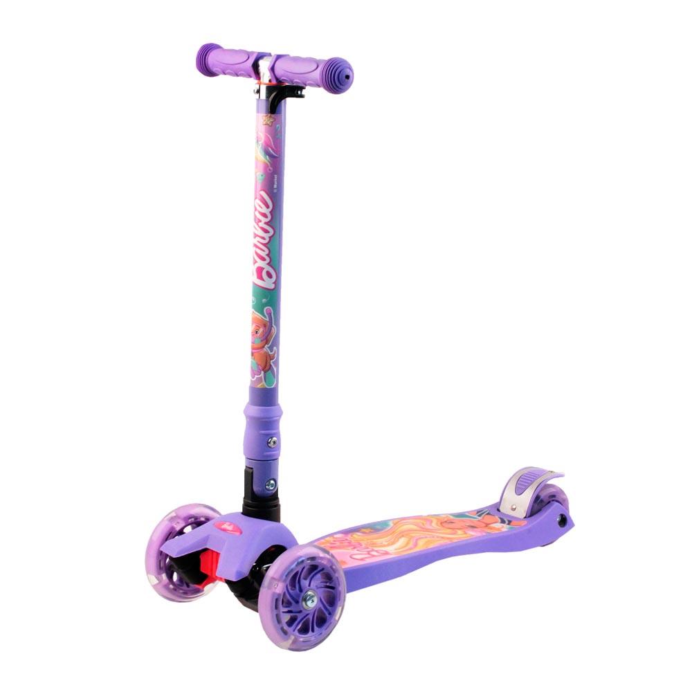Фото - Самокат Джамбо тойс 912-B5PV1, фиолетовый набор школьниика barbie