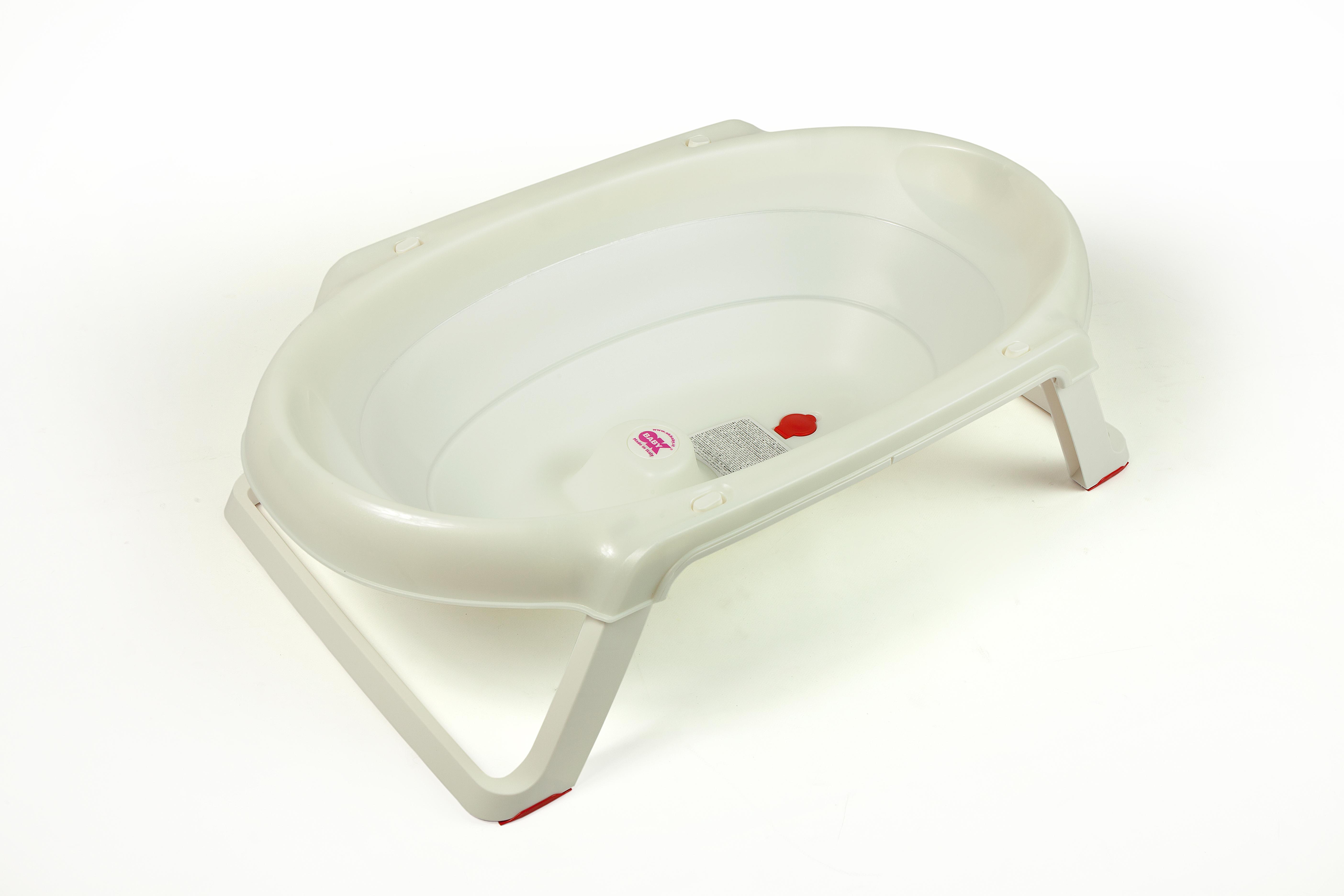 Детская ванна OK BABY ONDA белый