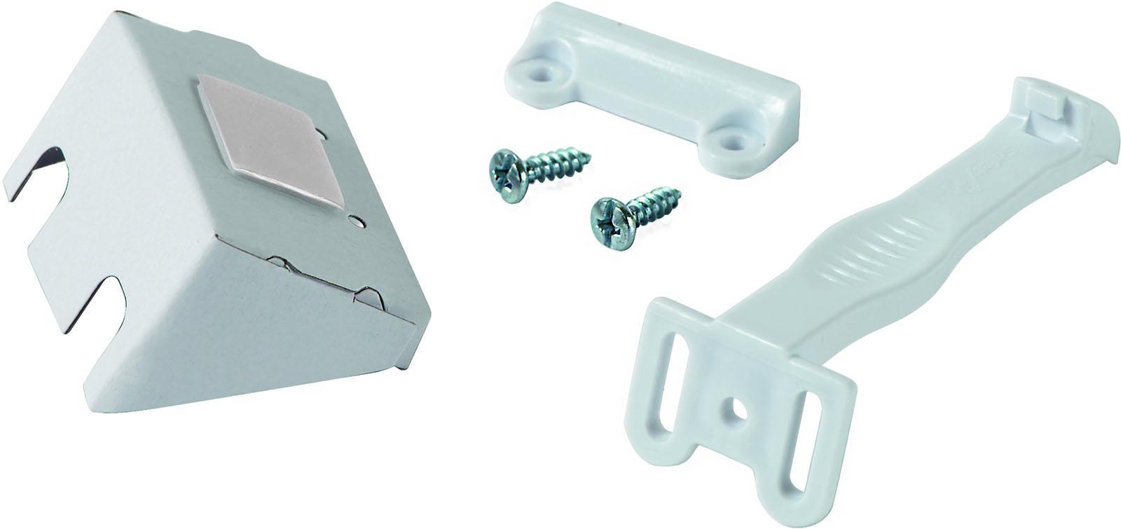 Блокиратор дверей/ящиков Safety 1st открывания распашной дверцы (7 шт.), белый safety 1st на дверь