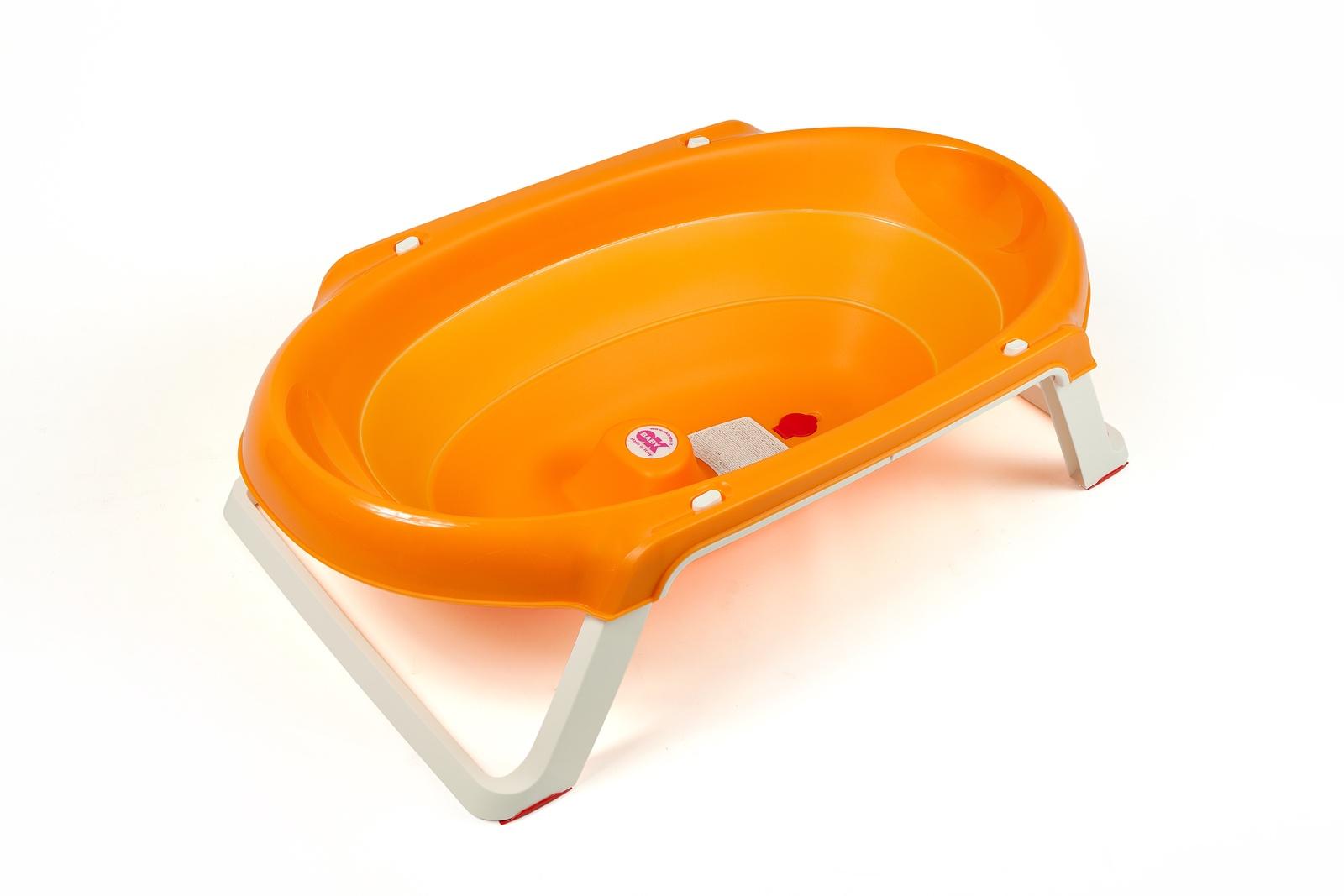 Детская ванна OK BABY ONDA оранжевый