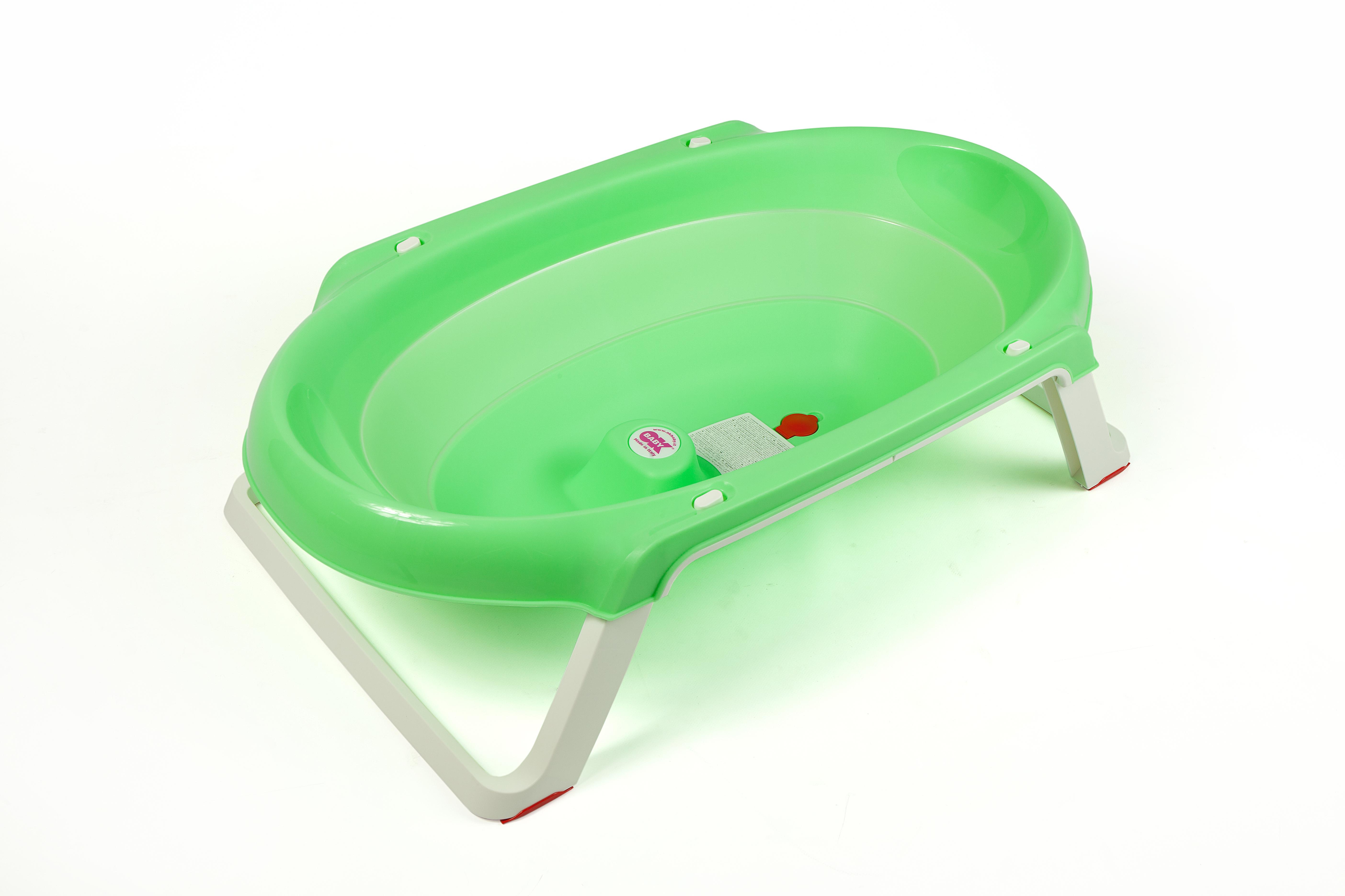 Детская ванна OK BABY ONDA зеленый