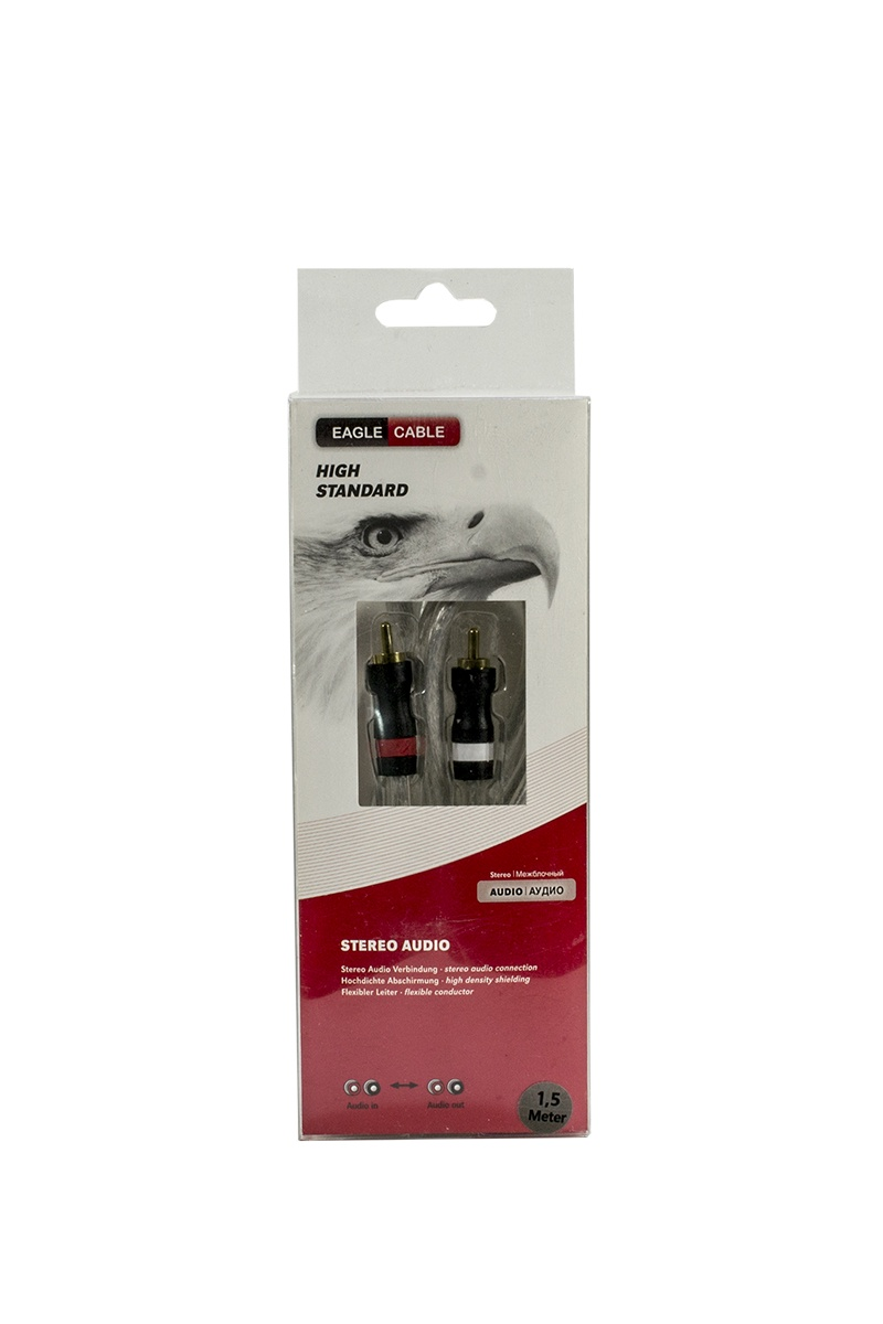 Кабель Eagle Cable High Standard Stereo Audio 1,5 м