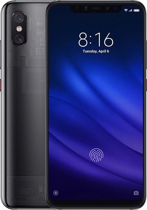 лучшая цена Смартфон Xiaomi Mi 8 Pro 8/128GB, прозрачный серый