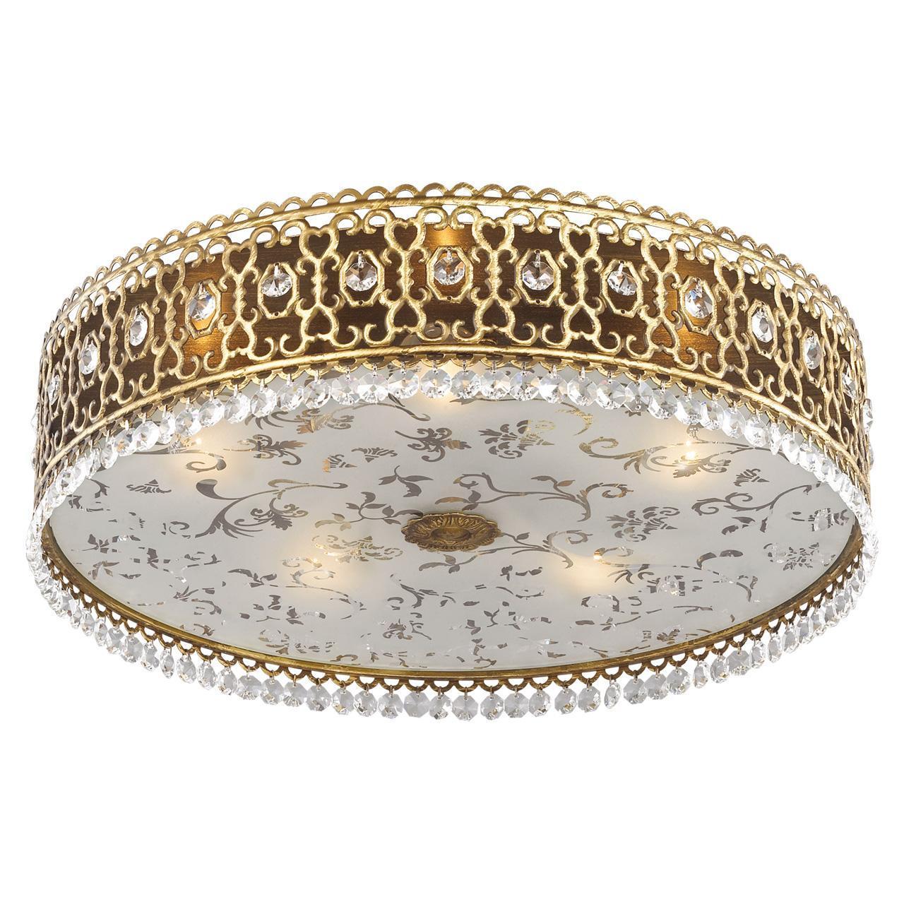 купить Потолочный светильник Odeon Light 2641/5C, белый по цене 14990 рублей
