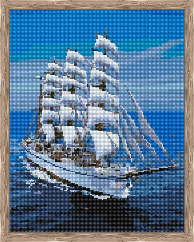 Алмазная мозаика ТМ Цветной QA202358QA202358В набор входит: 1) Холст на деревянном подрамнике и жесткой основой. Яркая печать схемы на холсте. Защитная прозрачная пленка. Безопасный клеевой слой. 2) Пронумерованные пакетики с мозаикой. Мозаика круглая. Каждый камень имеет алмазную огранку. Размер мозаики 2,5мм - 2,8мм. Зип-пакеты в комплекте. 3) Подробная книжка инструкция. Лист со схемой выкладки мозаики. Подарочная коробка с ручкой и кратким описанием набора. 4) Специальный пластиковый карандаш для захвата мозаики. Клей-липучка для карандаша. Пластиковый пинцет для альтернативного способа выкладки. Лоток для мозаики. Крепление на стену. Алмазная вышивка или картины мозаикой. Набор для создания картины мозаикой позволит создать прекрасный подарок или украшение для интерьера. Каждый камень мозаики имеет алмазную огранку, что позволяет готовой работе переливаться цветами.