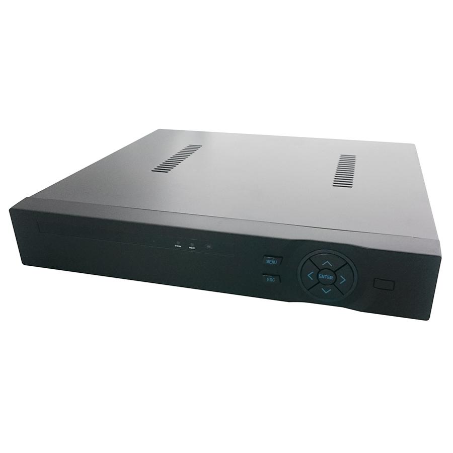Регистратор Zodikam NVR4204-SP, черный видеорегистратор zodikam dvr 10
