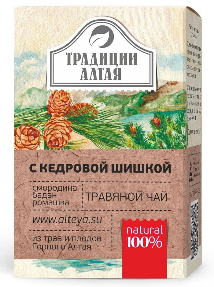 Чай растворимый Алтэя натуральный травяной чай, Душица, Ромашка, Ароматные травы, Кедр, Смородина, 50 Алтэя