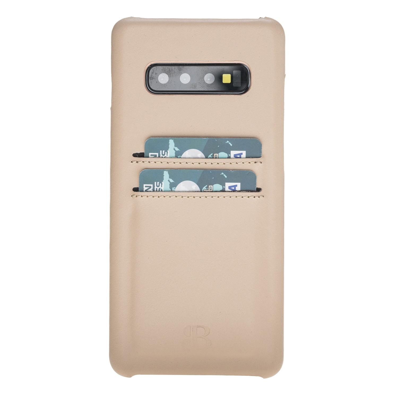 Чехол для сотового телефона Burkley для Samsung S10 Ultimate Jacket, бежевый