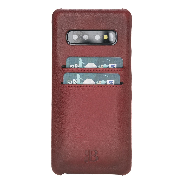 Чехол для сотового телефона Burkley для Samsung S10 Ultimate Jacket, бордовый