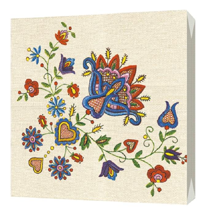 Салфетки бумажные Bulgaree Green Вышивка, разноцветный салфетки бумажные bulgaree green вышивка трехслойные 33 х 33 см 20 шт