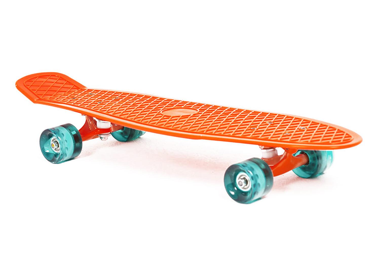 Скейтборд Moove&Fun PP2708-1, оранжевый