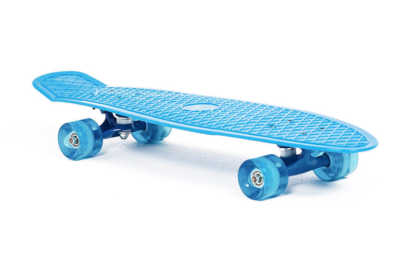 Скейтборд Moove&Fun PP2708-1, голубой