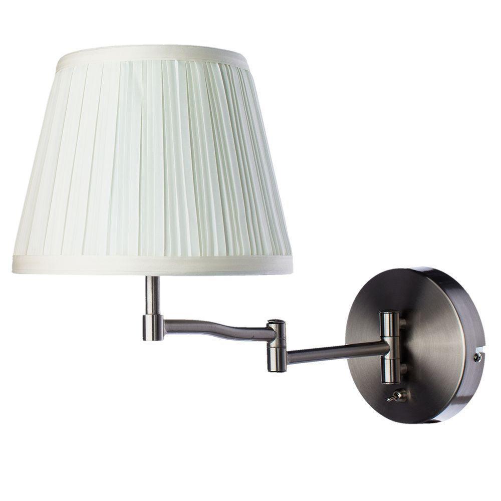 Бра Arte Lamp A2872AP-1SS, белый цена