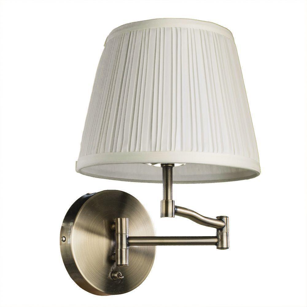 Бра Arte Lamp A2872AP-1AB, белый