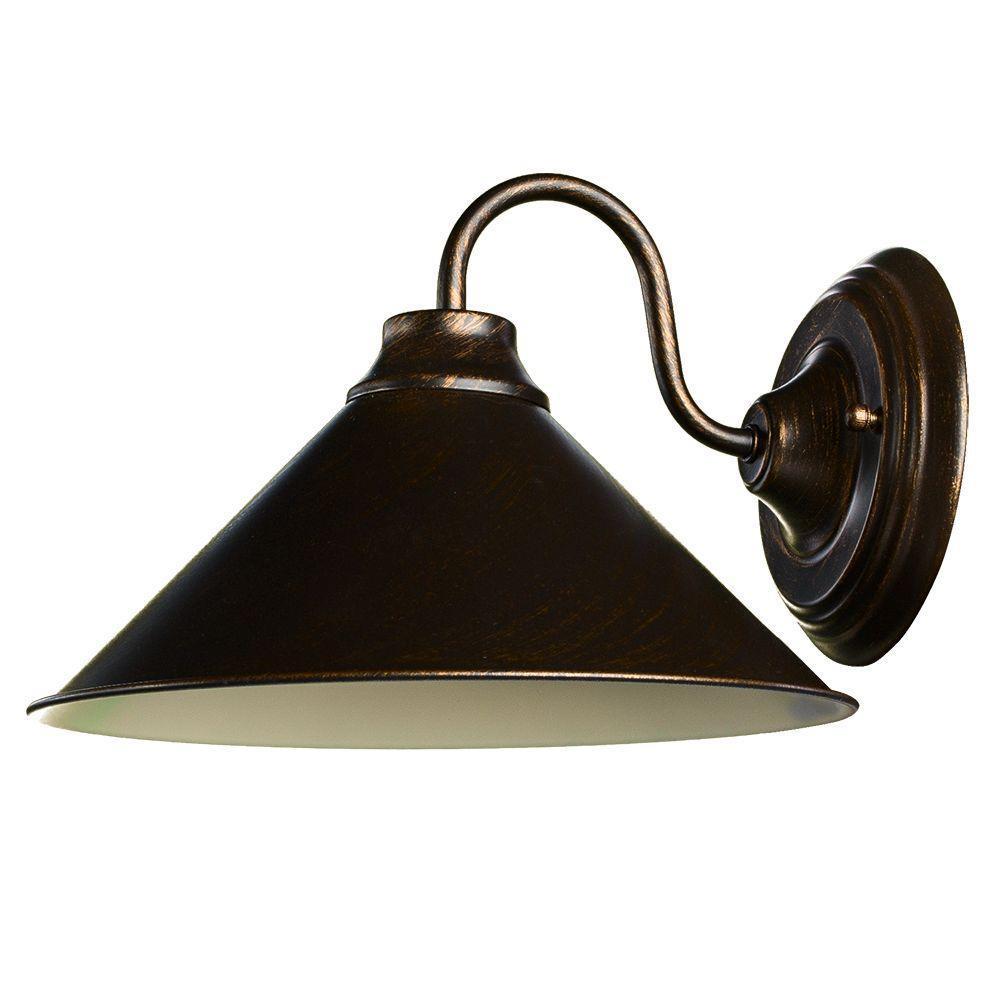 Бра Arte Lamp A9330AP-1BR, коричневый