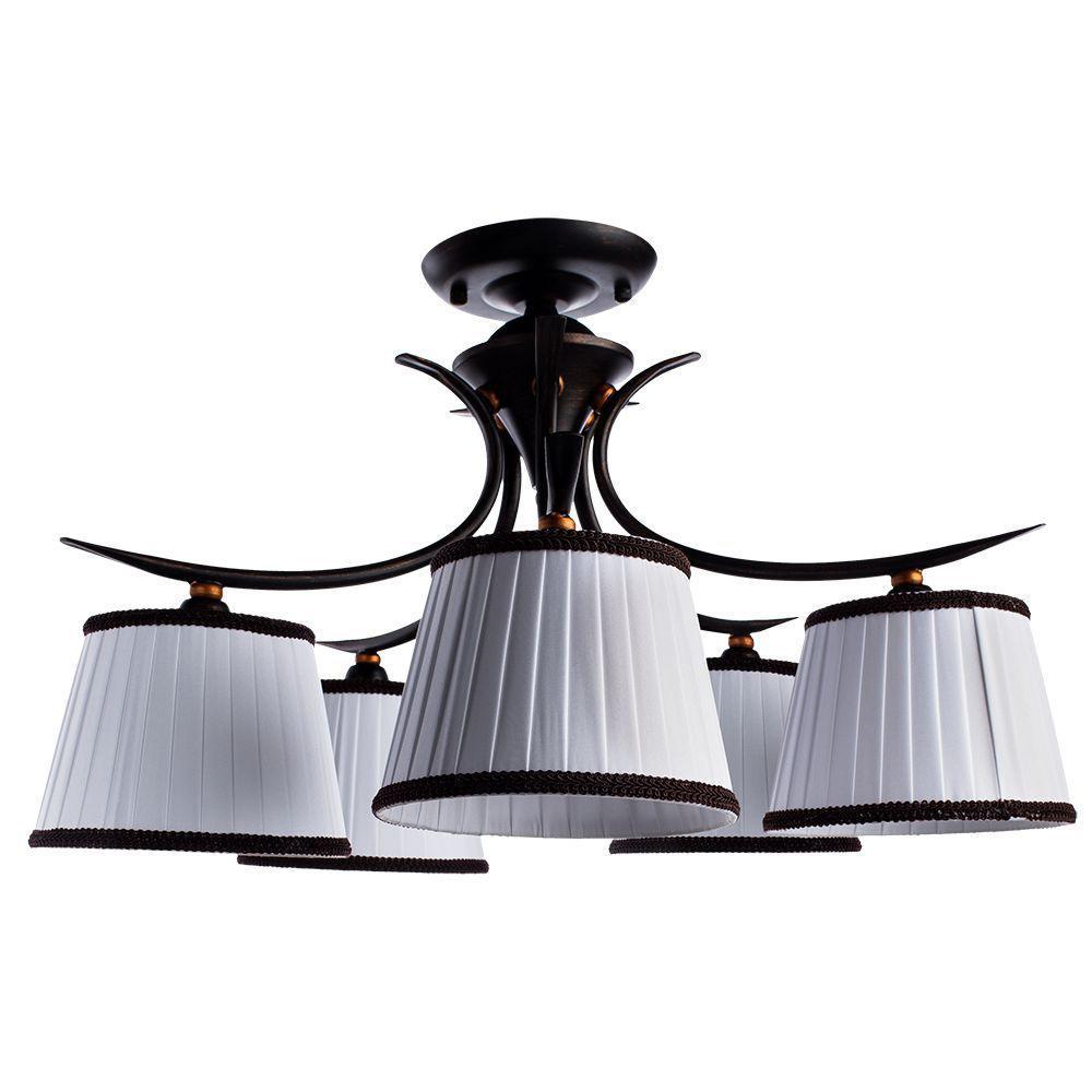 цена на Потолочный светильник Arte Lamp A5133PL-5BR, белый