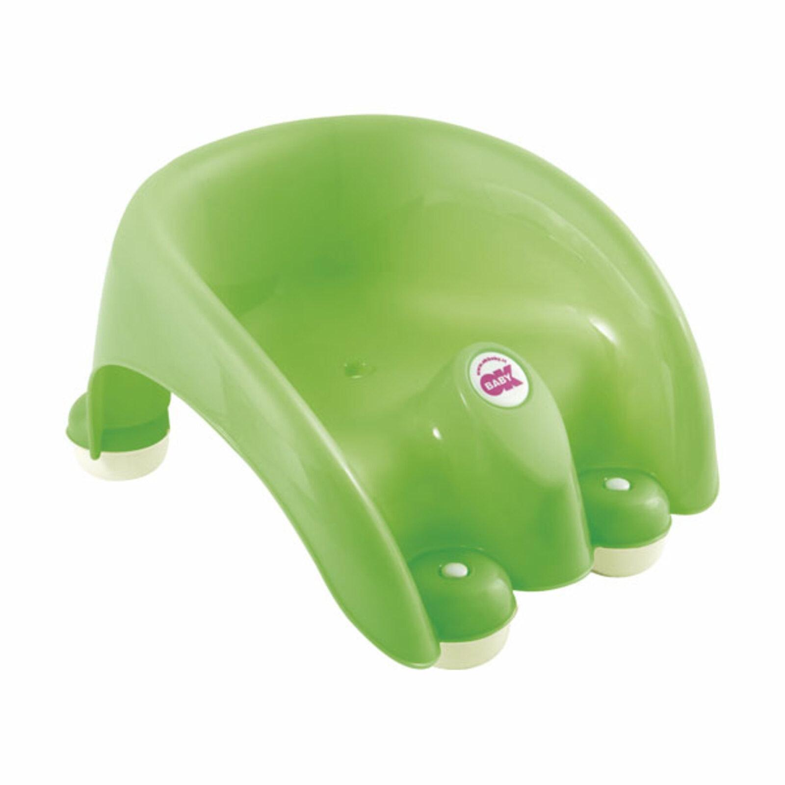 Стульчик для купания OK BABY POUF зеленый