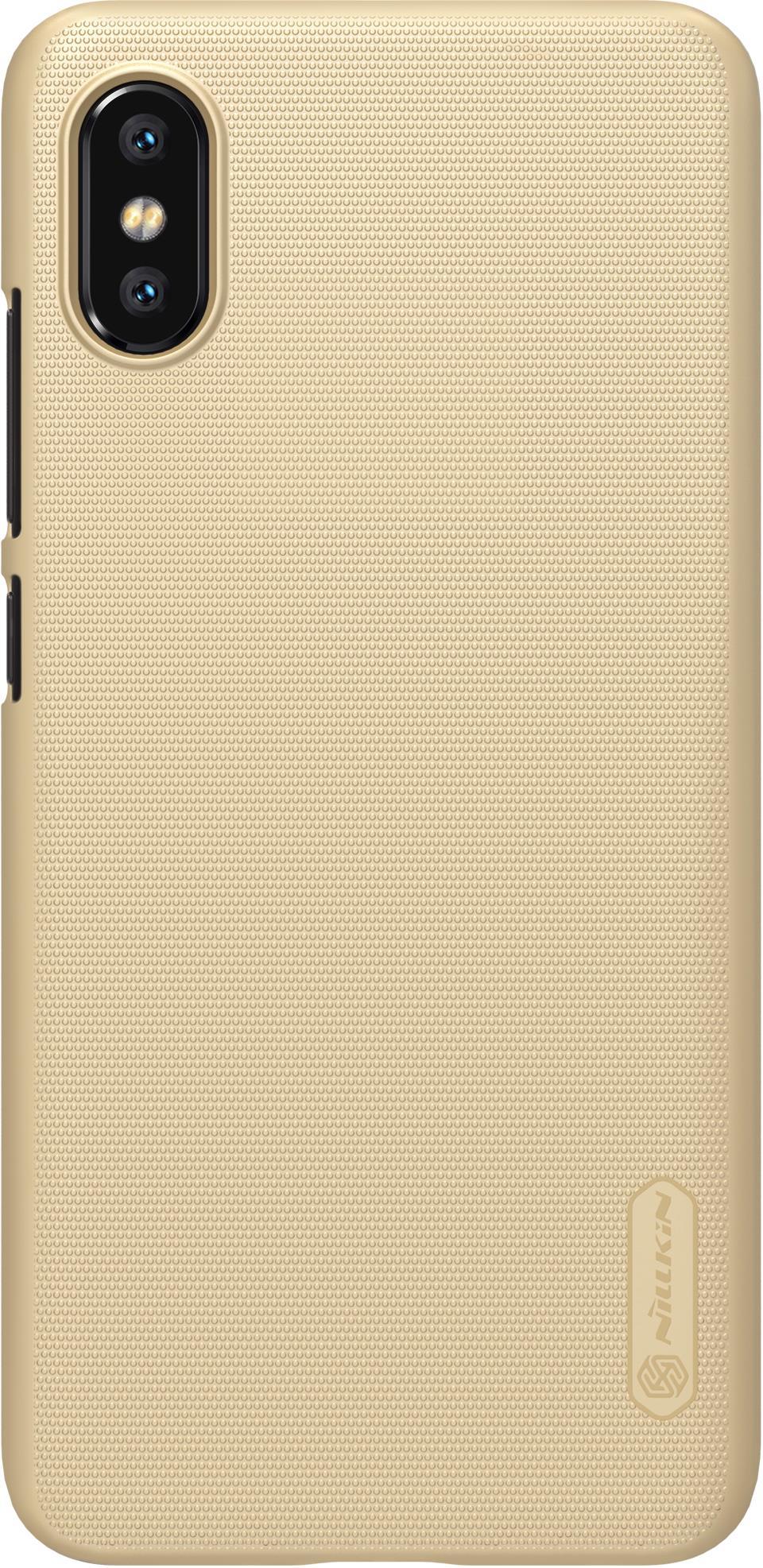 Чехол для сотового телефона Nillkin T-N-XM8E-002, черный защитный чехол nillkin super frosted shield для xiaomi mi 9 gold