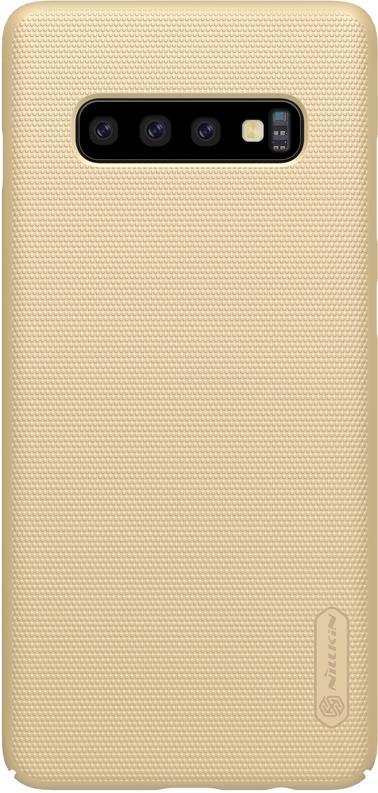 Чехол для сотового телефона Nillkin T-N-SGS10-002, золотой аксессуар чехол nillkin для meizu m6 note super frosted shield gold t n mm6n 002
