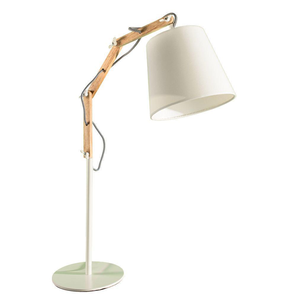 Настольный светильник Arte Lamp A5700LT-1WH, белый светильник настольный arte lamp sphere a6020lt 1wh 4630001047146
