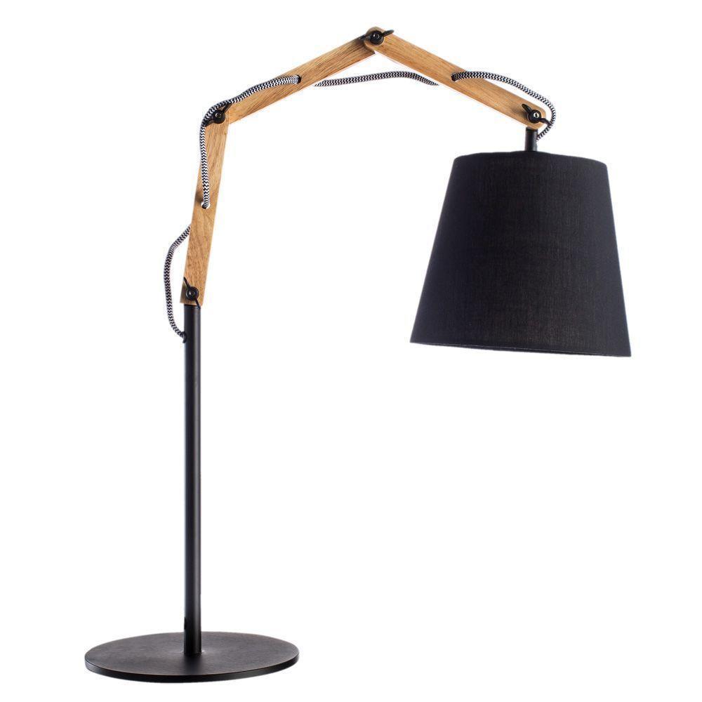 Настольный светильник Arte Lamp A5700LT-1BK, коричневый цена 2017