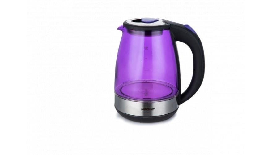 Чайник электрический Magnit, 1.7 л, 1500 Вт, подсветка корпуса