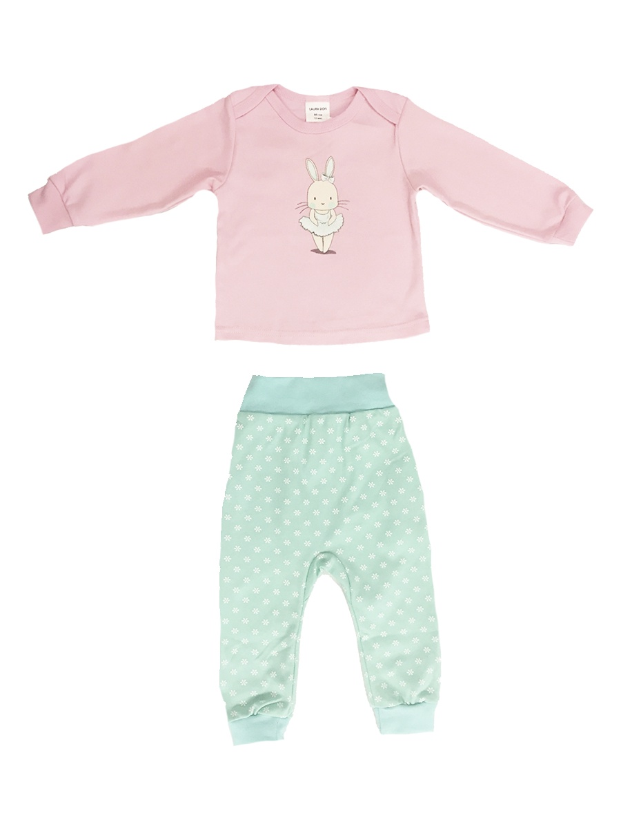 Комплект одежды LAURA DOFI комплект одежды для девочки осьминожка дружба цвет молочный розовый т 3122в размер 56